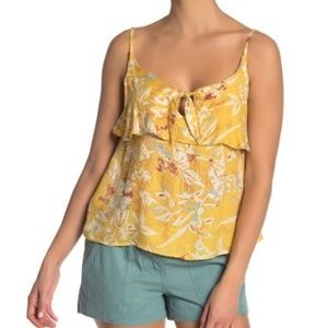 Roxy Sleeveless Floral Top